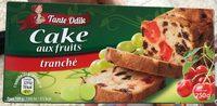 Cake aux fruits tranché - Product
