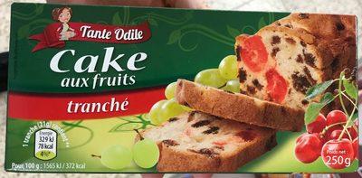 Cake aux fruits tranché - Produit - fr