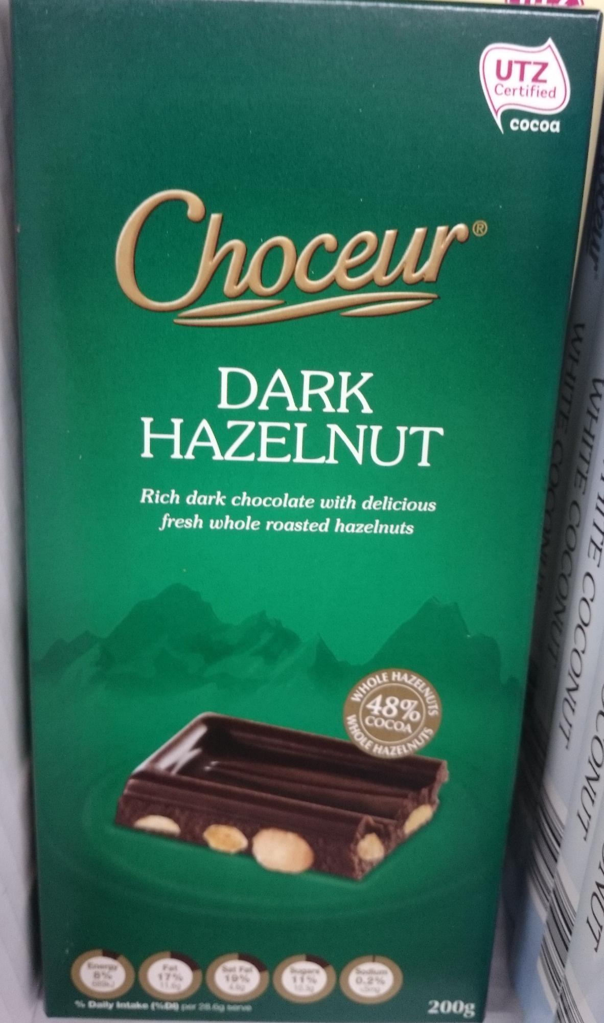 Choceur Dark Hazelnut - Produit