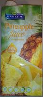 Westcliff Pineapple Juice Unsweetened - Product