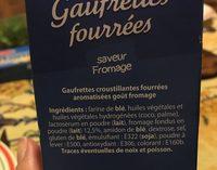 Gaufrettes fourrées - Ingrédients - fr