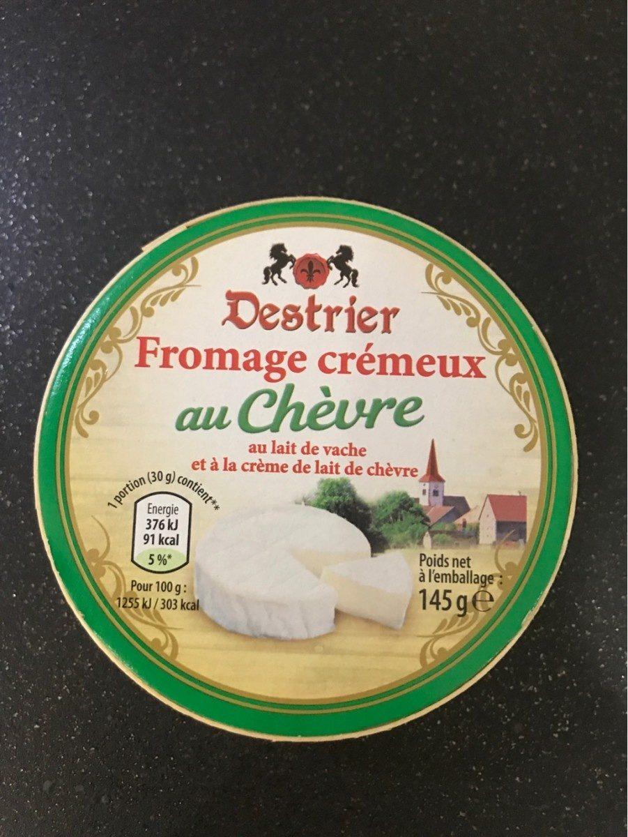 Fromage crémeux au chèvre - Product