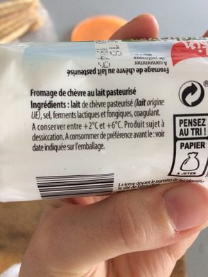 Buche de chevre - Ingrediënten - fr
