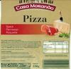 Pizza (Speck Parmesan Roquette) - Produit