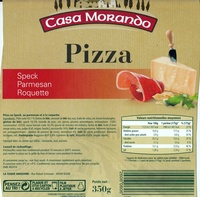 Pizza (Speck Parmesan Roquette) - Product - fr