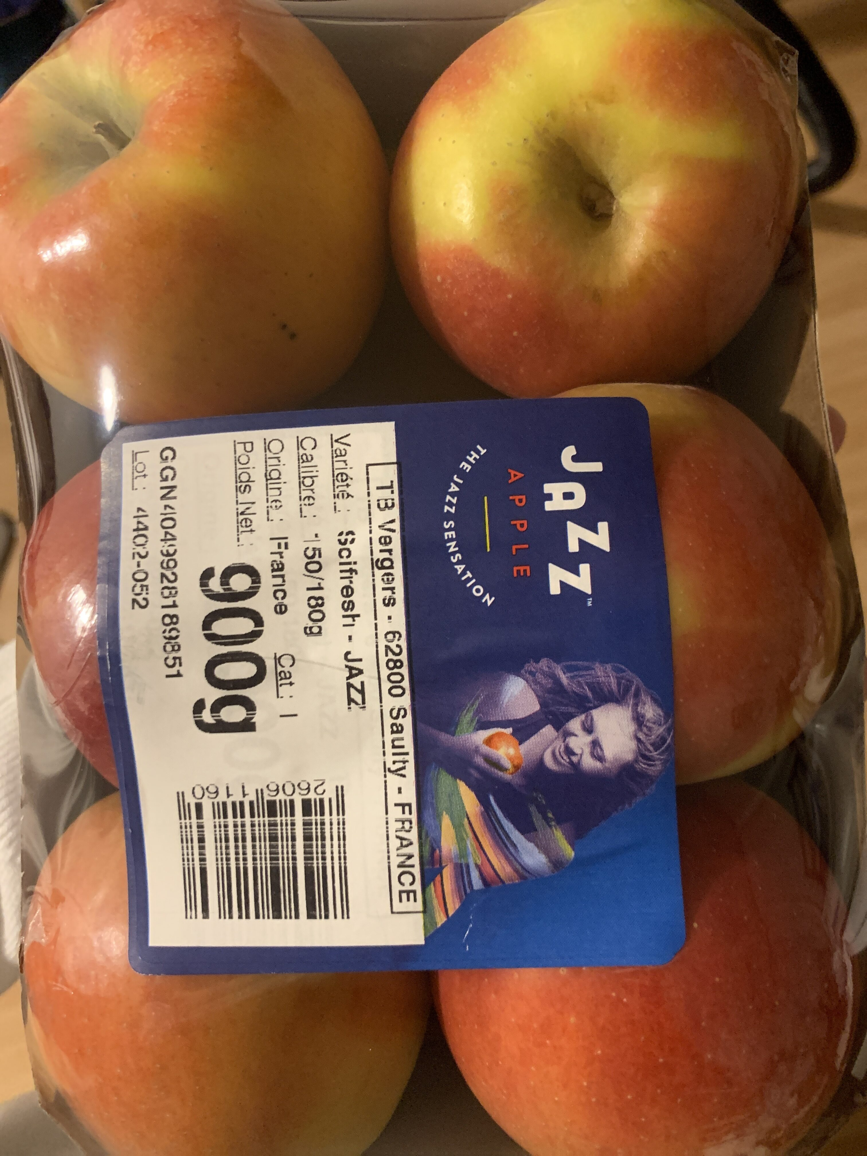 Pommes Jazz - Informations nutritionnelles - fr