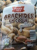 Arachides en coque - Produit - fr