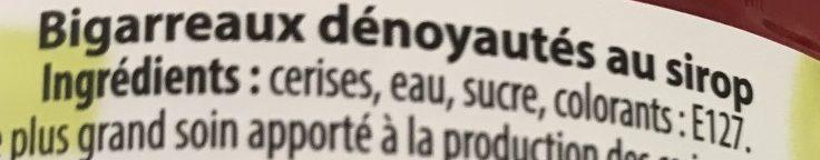 Bigarreaux - Ingrédients - fr