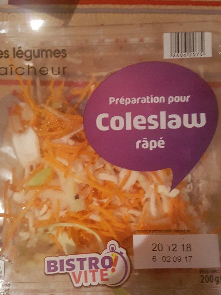 Préparation pour Coleslaw râpé - Produit - fr