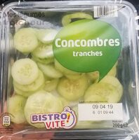 Concombres tranches - Produit - fr