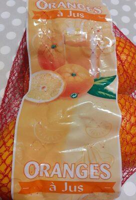 Orange à jus - Informations nutritionnelles
