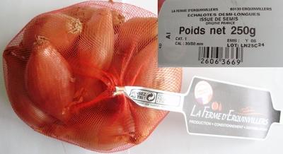 Echalotes demi-longues (Cat. 1, Cal. 30/50 mm) - Product - fr