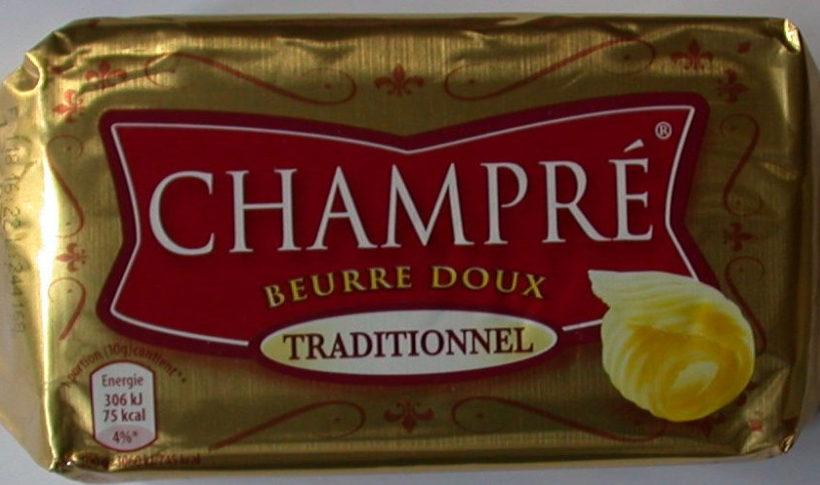 Beurre Doux Traditionnel - Produit - fr