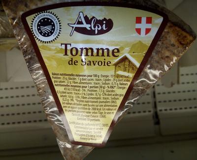 Tomme de Savoie IGP (29% MG) - Product - fr