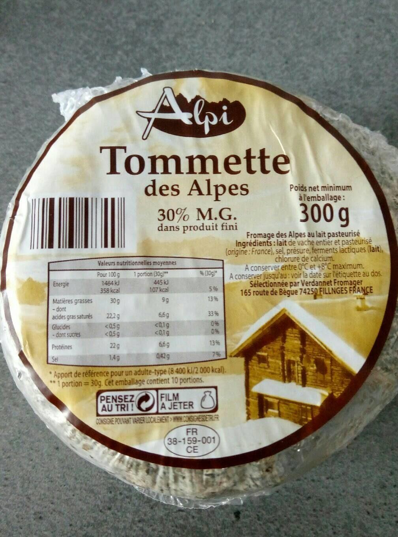 Tommette des alpes - Product - fr