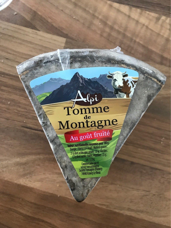 Tomme de montagne au goût fruité - Produit - fr
