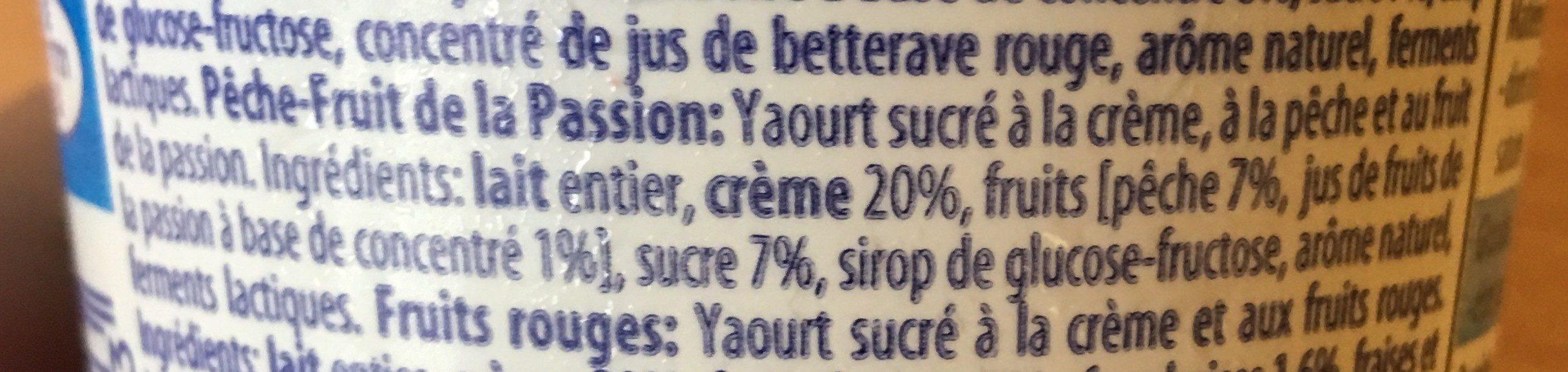 Yaourt aux Fruits Mixés - Ingredients - fr