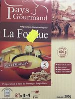 La fondue - Produit