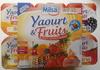 Yaourt & Fruits (Abricots, Ananas, Cerises, Fraises, Mûres, Pêches) 12 Pots - Produit