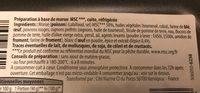 Accras de morue - Ingredients