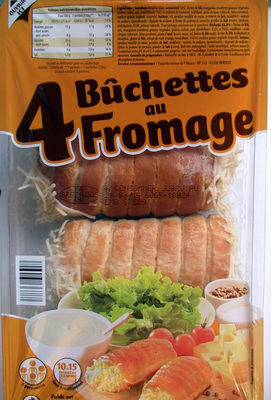 Bûchettes au Fromage - Recycling instructions and/or packaging information - fr