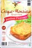 Croque-monsieur gratinés jambon fromage - Product