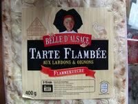 Flammekueche - Tarte flambée aux lardons et oignons - Product - fr