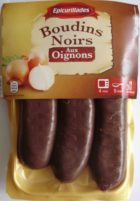 Boudins Noirs, Aux Oignons - Produit - fr