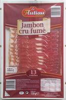 Jambon cru de Westphalie fumé - 13 tranches - Produit