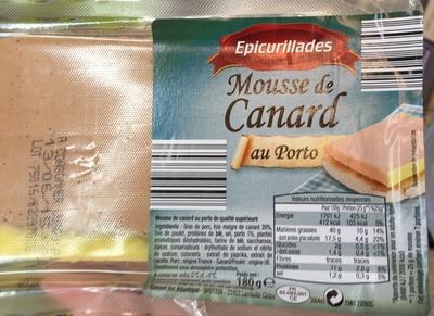 Mousse de Canard au Porto - Produit