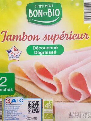 Jambon supérieur - Produkt