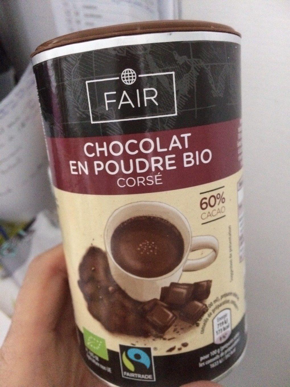 Chocolat en poudre BIO - Produit - fr