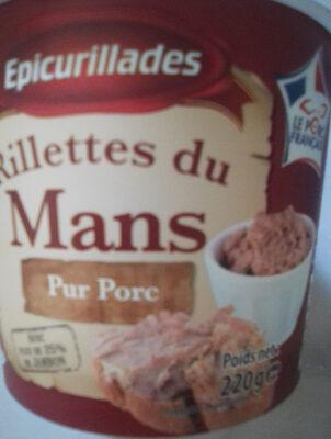 Rillettes de Porc - Produit - fr