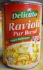 Ravioli Pur Bœuf (Sauce Italienne) - Produit