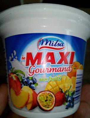Maxi gourmand - Produit