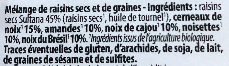 mélange éxotique - Ingrédients - fr