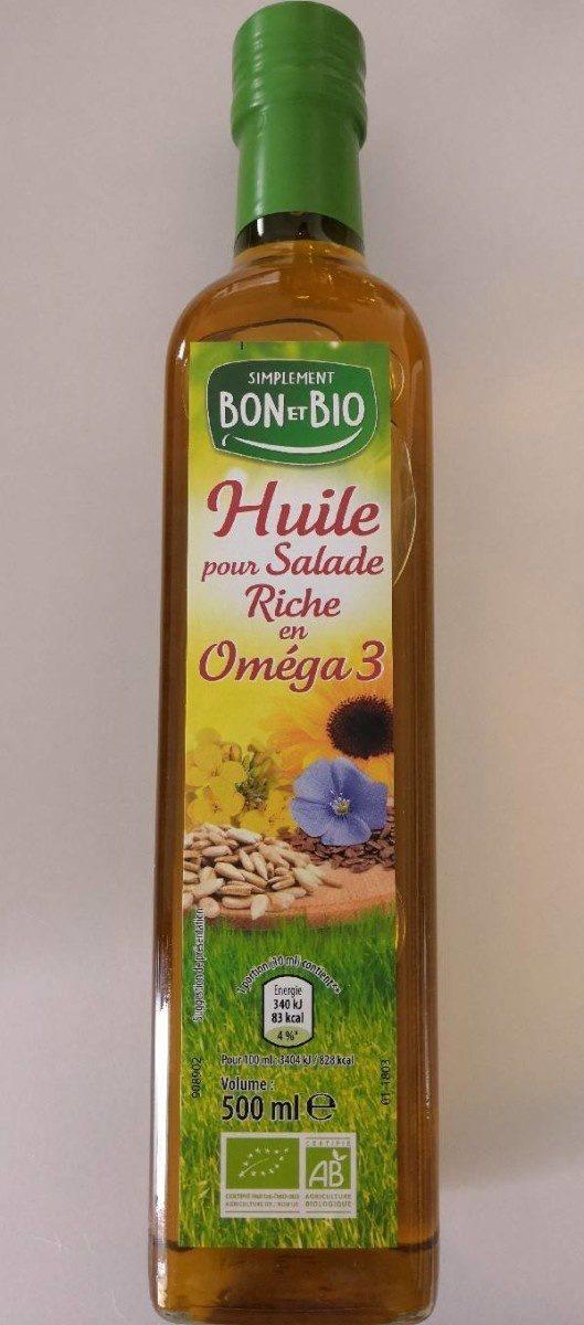 Huile pour Salade Riche en Oméga 3 - Produit - fr