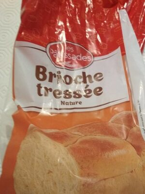 Brioche tressée nature - Product