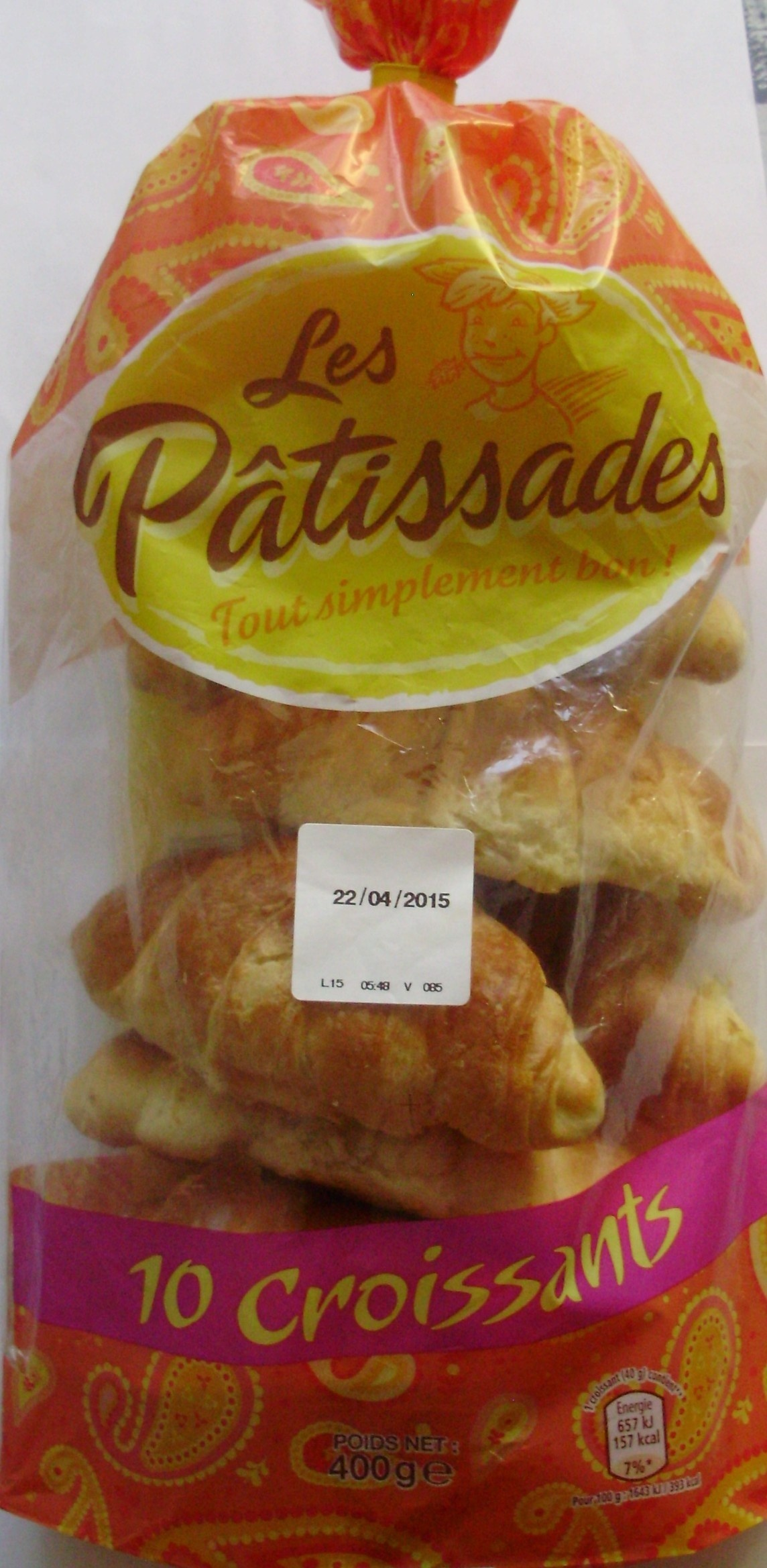 10 Croissants - Product