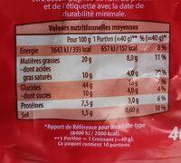 10 Croissants - Informations nutritionnelles - fr