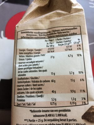 Cookies Aux 3 chocolats - Ingrediënten