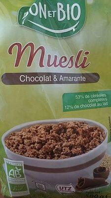 Muesli chocolat amarante - Product - en