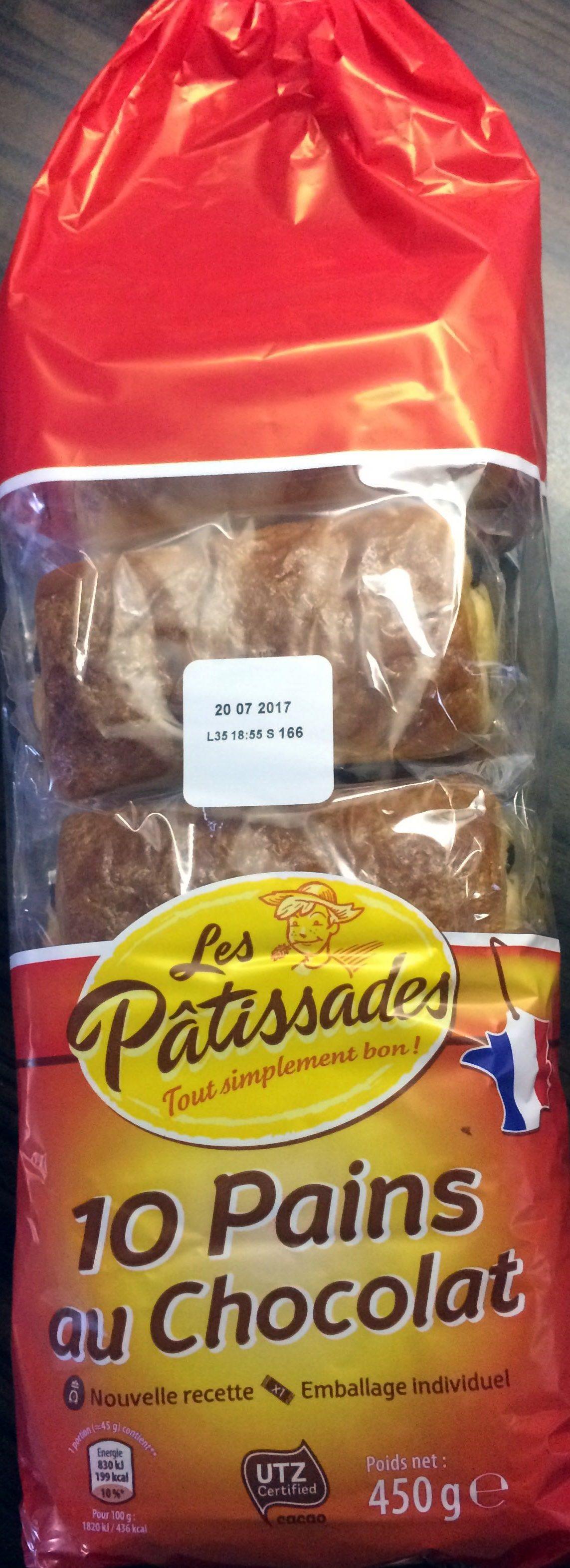 10 pains au chocolat - Produit