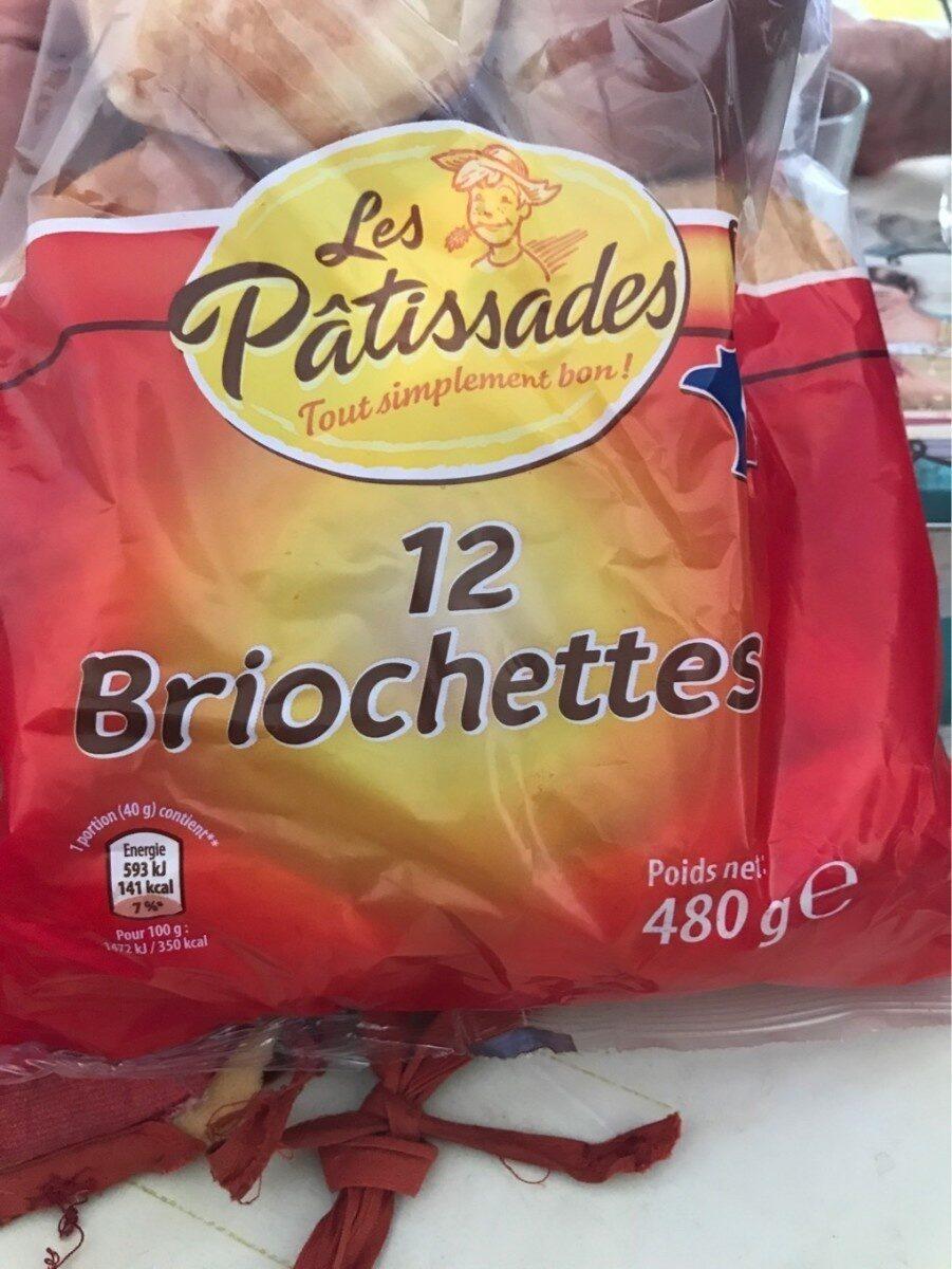 12  Briochettes - Produit - fr