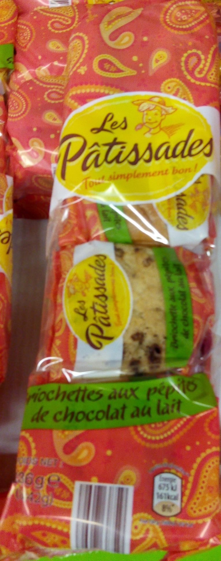 Briochettes aux pépites de chocolat au lait - 336 g - Product