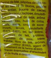 Briochettes aux pépites de chocolat au lait - 336 g - Ingredients
