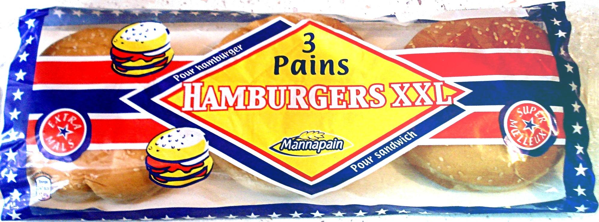 Pains Hamburgers XXL - Product