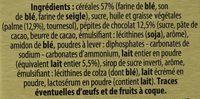 Croc Matin - Ingrédients - fr