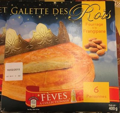 Calories gateau des rois