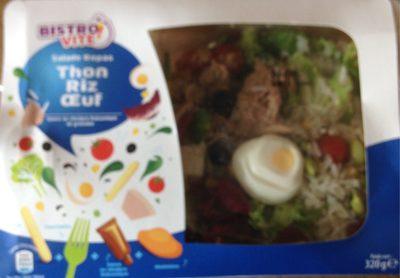Salade jambon œuf emmental - Produit
